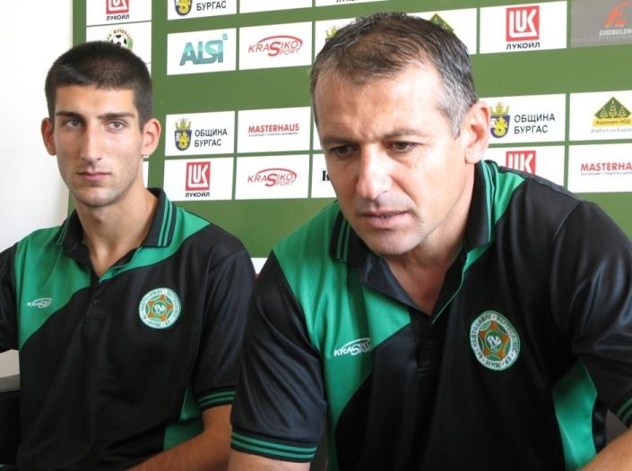 Димчо Ненов очаква тежък мач срещу  Септември Симитли