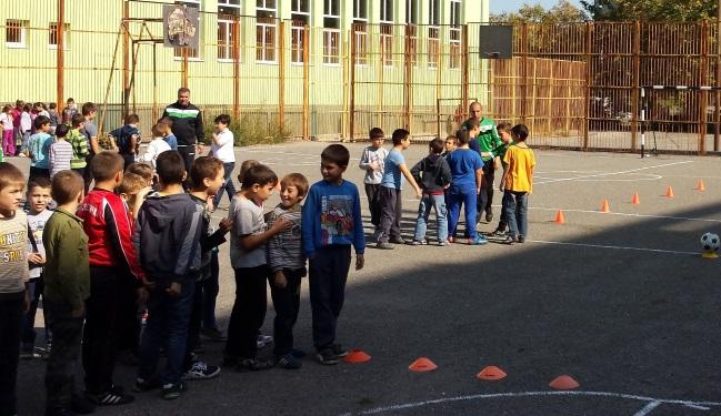 Тренирай футбол с Нефтохимик