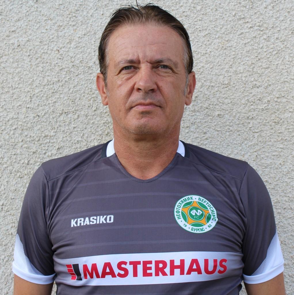 Диян Петков - помощник-треньор