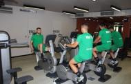 Футболистите на Нефтохимик тренират в ултра модерен фитнес център