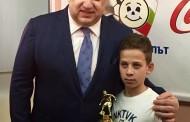 Футболист от школата на Нефтохимик бе отличен сред най-талантливите деца в страната