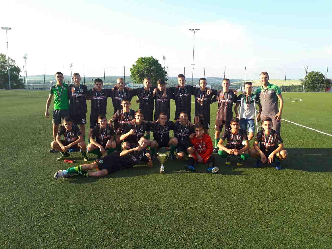 Нефтохимик U15 – третият най-добър отбор в България