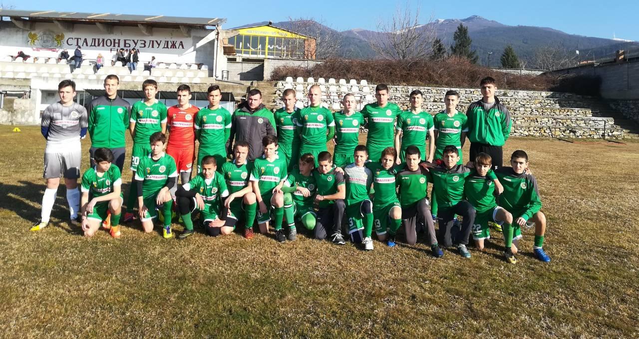 Нефтохимик U15 победи Розова долина в Казанлък