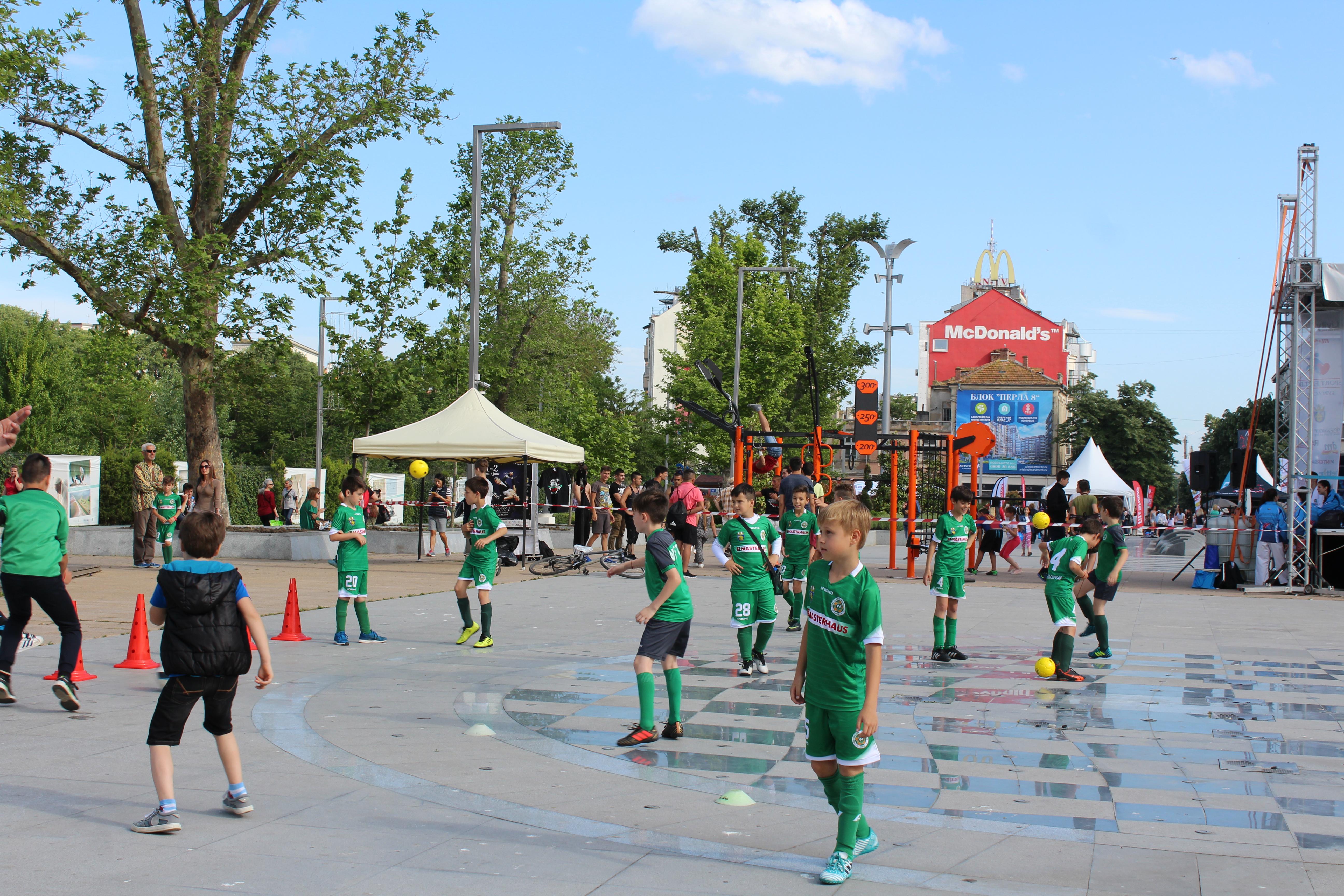 Нефтохимик откри Фестивала на спорта и здравето