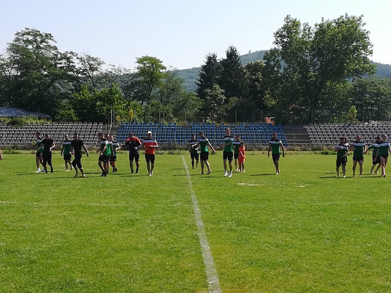 Първа тренировка във Велинград
