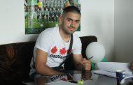 Йолиян Милков подписа първи професионален договор с клуба